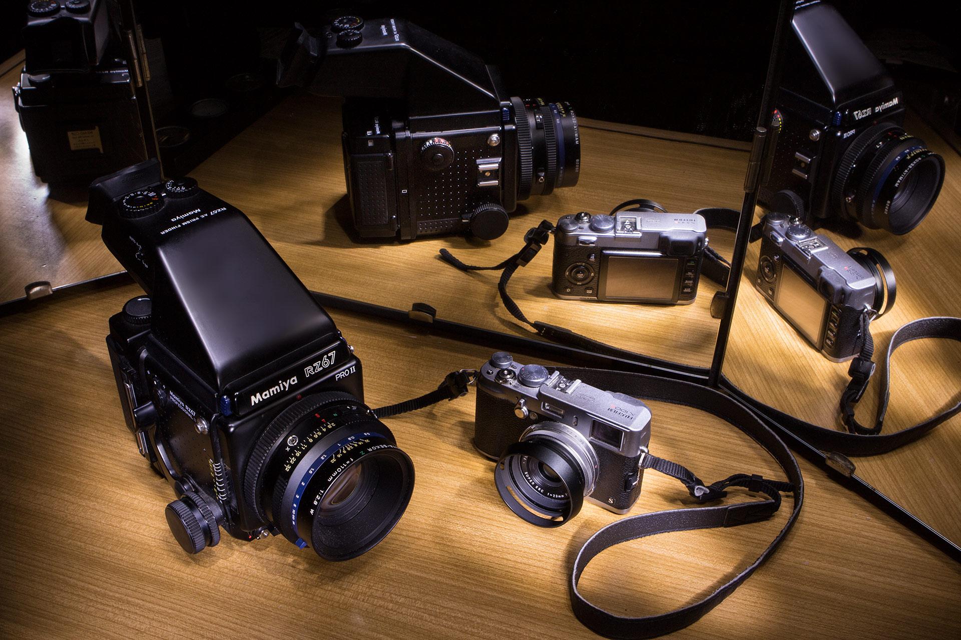 Fujifilm GFX or Mamiya RZ67 Pro II?